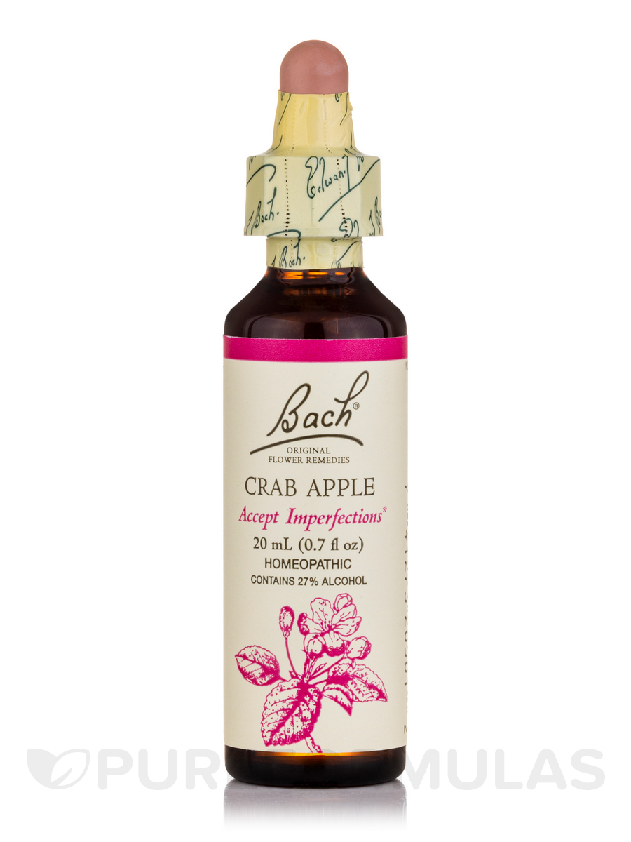 Flower Essence Crab Apple - 0.7 fl. oz (20 ml)