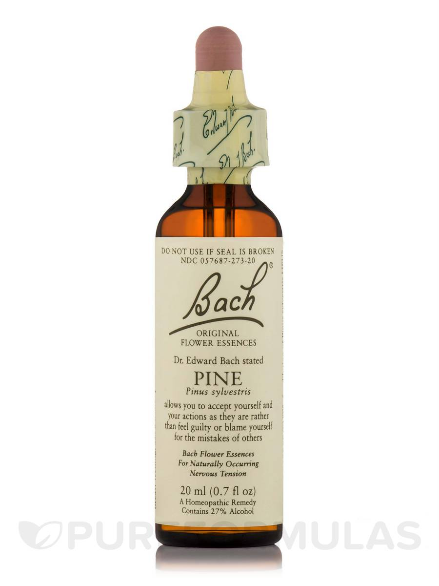 Flower Essence Pine - 0.7 fl. oz (20 ml)