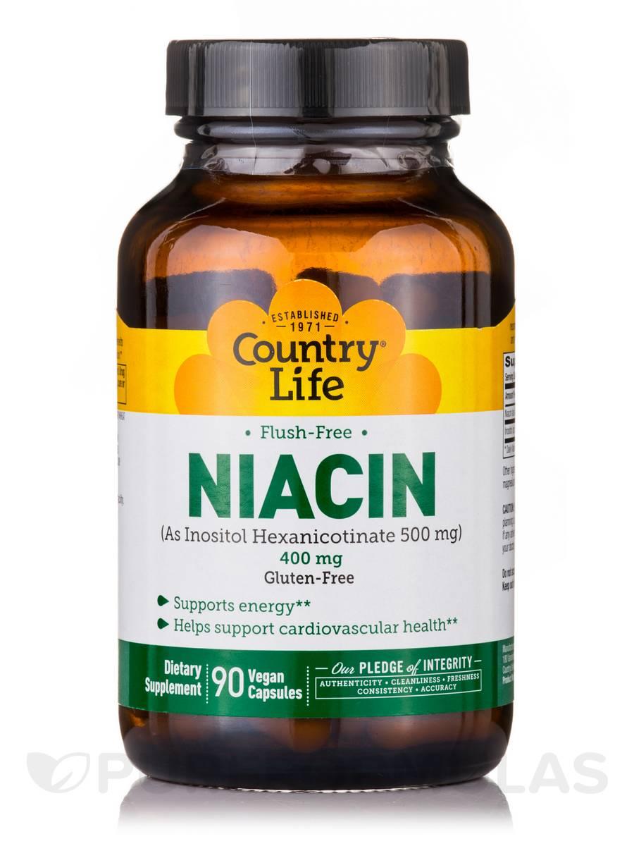 Flush-Free Niacin - 90 Vegan Capsules