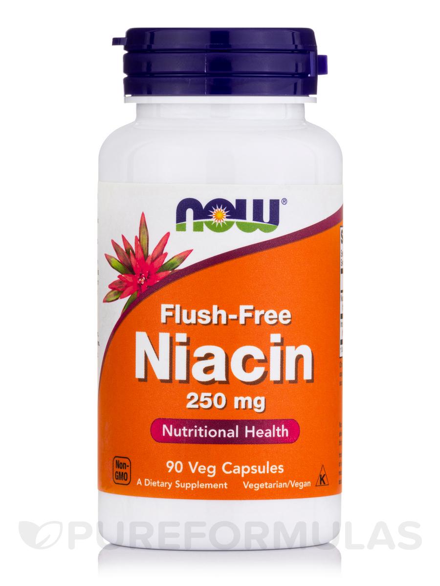 Flush-Free Niacin 250 mg - 90 Veg Capsules