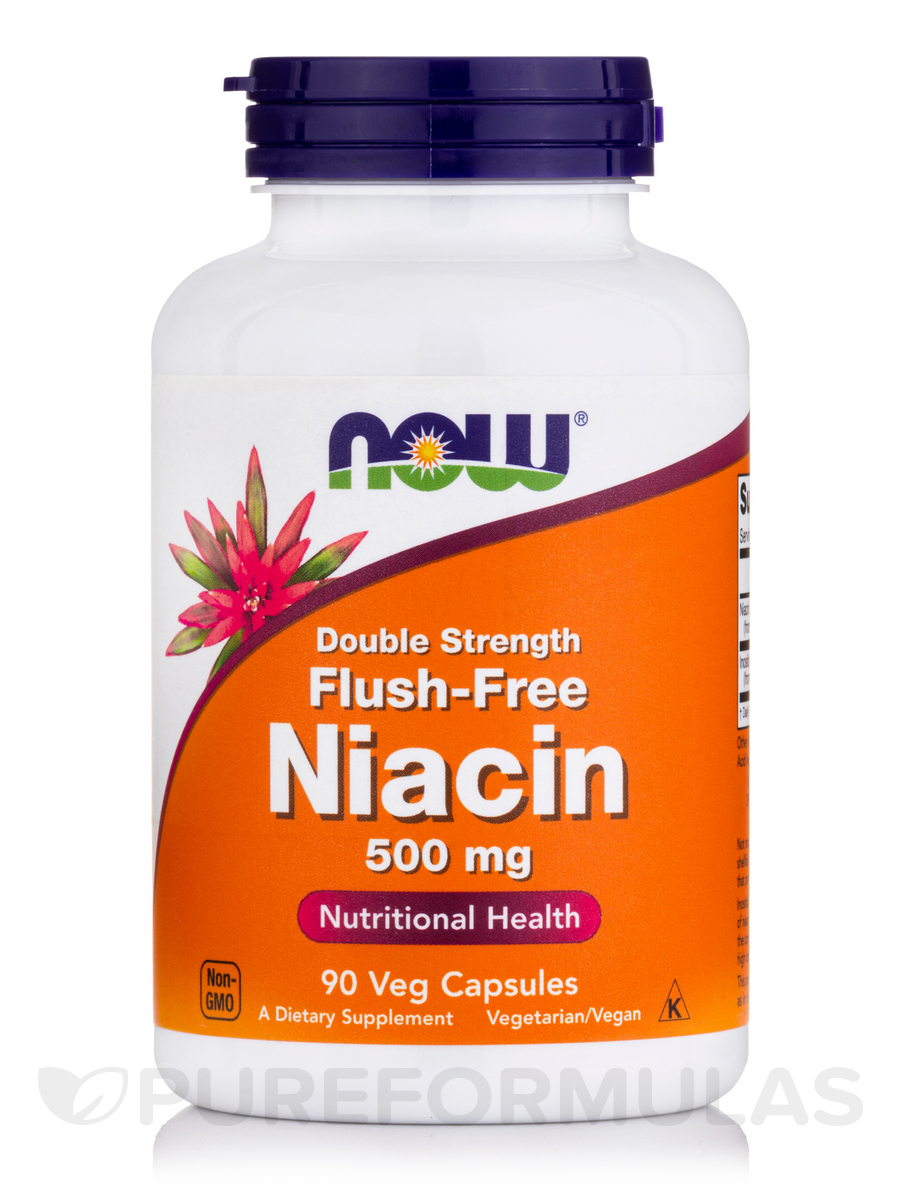 Flush-Free Niacin 500 mg - 90 Veg Capsules