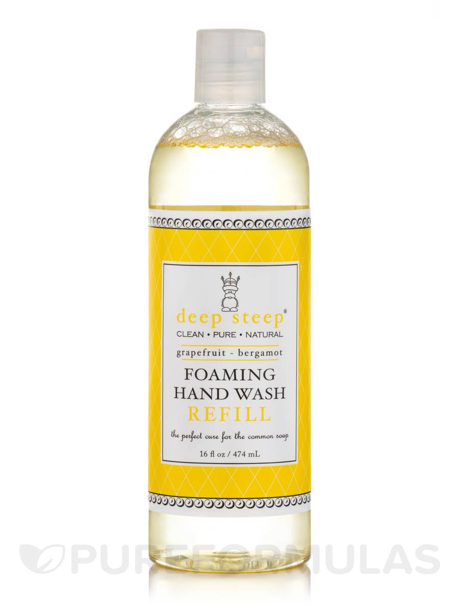 Foaming Hand Wash Refill, Grapefruit Bergamot - 16 fl. oz (474 ml)