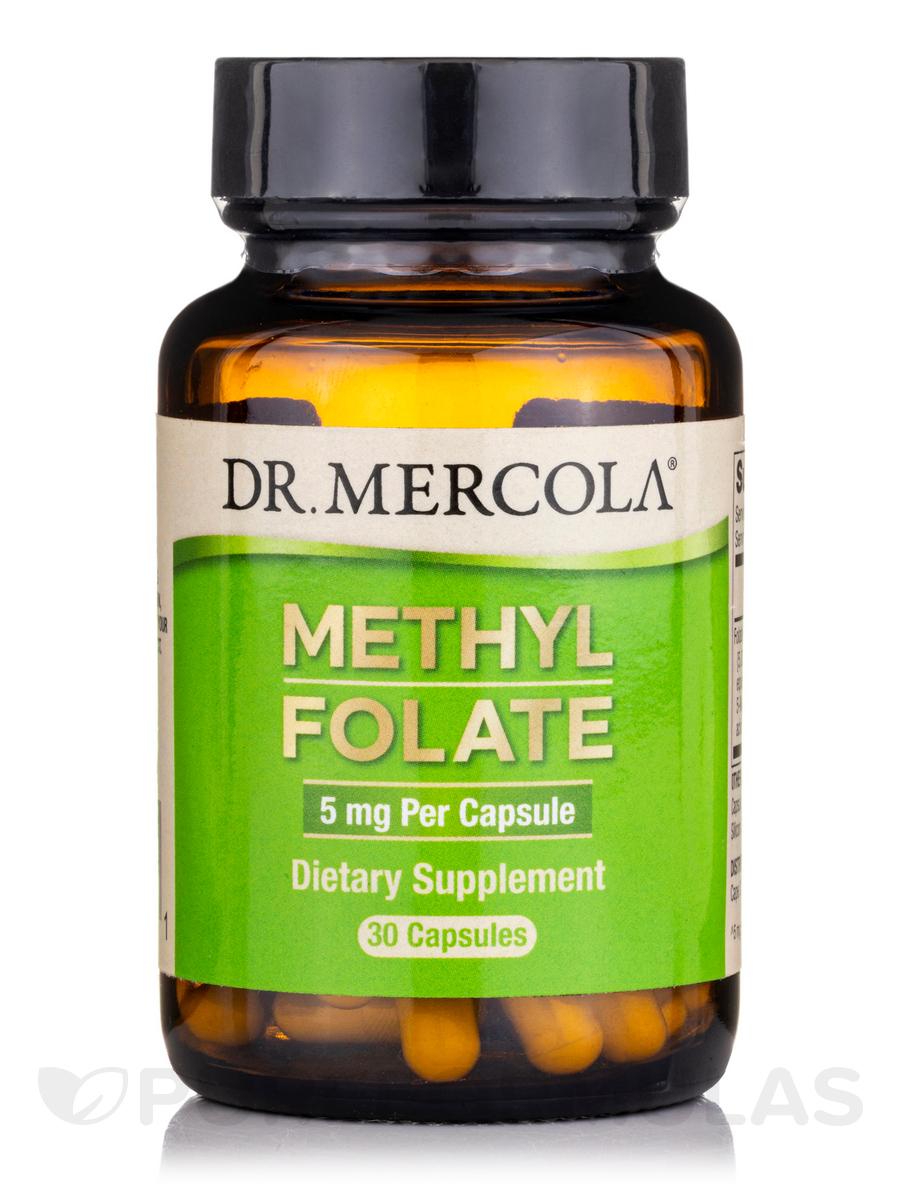 Folate 5 mg - 30 Capsules