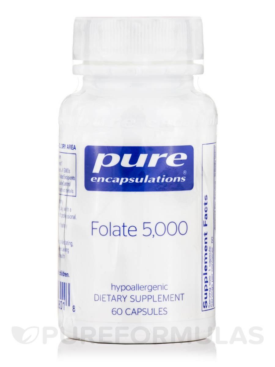 Folate 5000 - 60 Capsules