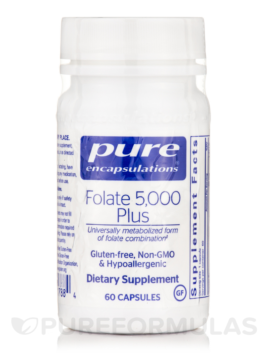 Folate 5000 Plus - 60 Capsules