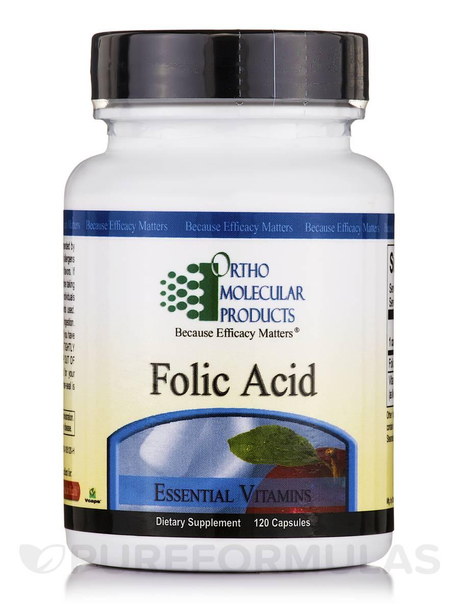 Folic Acid 5 mg - 120 Capsules