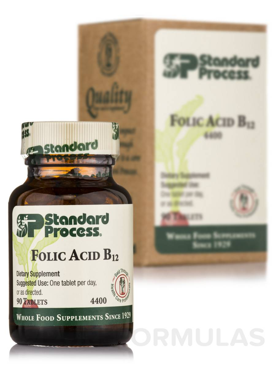 Folic Acid B12 - 90 Tablets