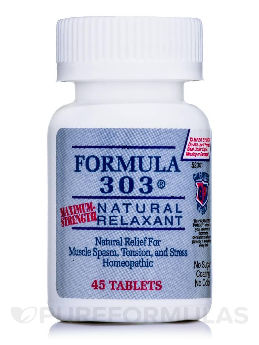 Formula 303 (Maximum-Strength) - 45 Tablets