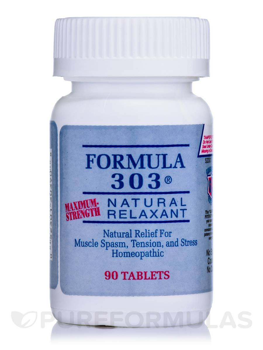 Formula 303 (Maximum-Strength) - 90 Tablets