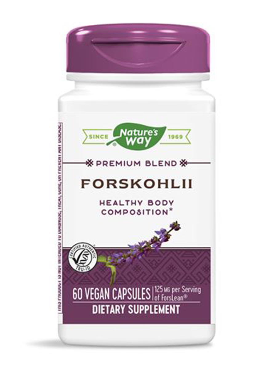 Forskohlii - 60 Vegetable Capsules