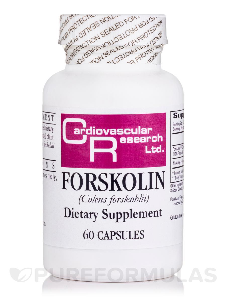 Forskolin - 60 Capsules