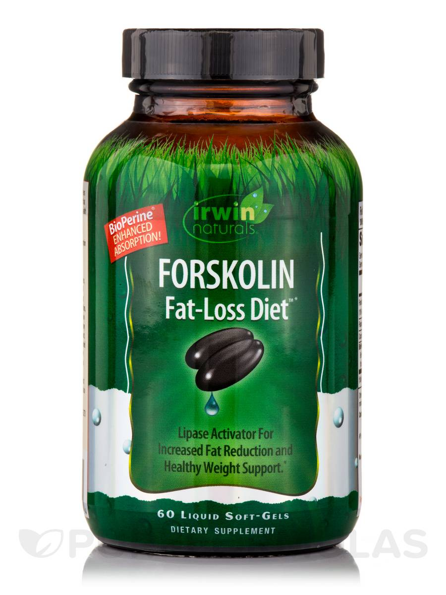 Forskolin Fat-Loss Diet™ - 60 Liquid Soft-Gels