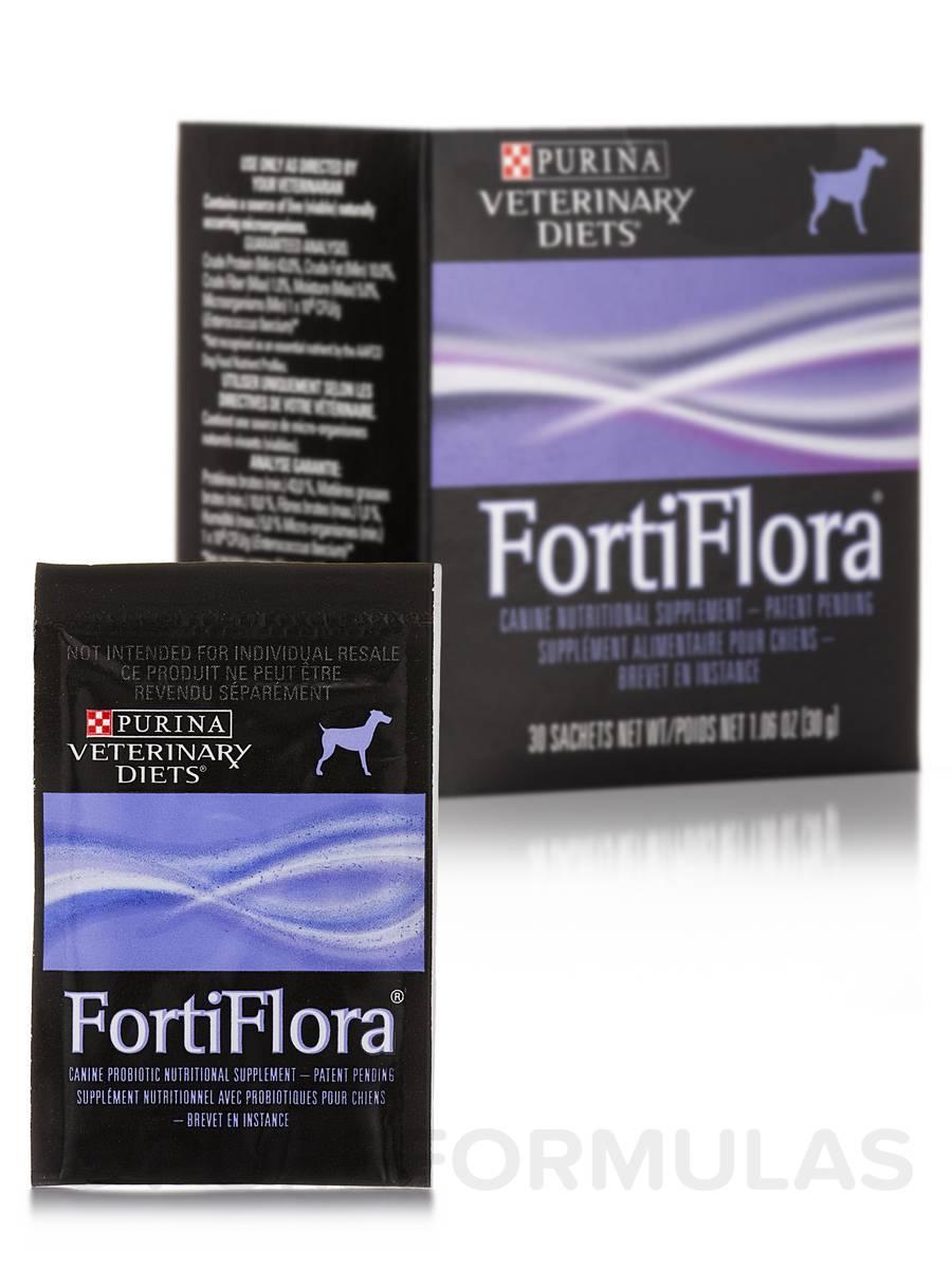 FortiFlora® Canine Formula - 30 Sachets (1.06 oz / 30 Grams each)