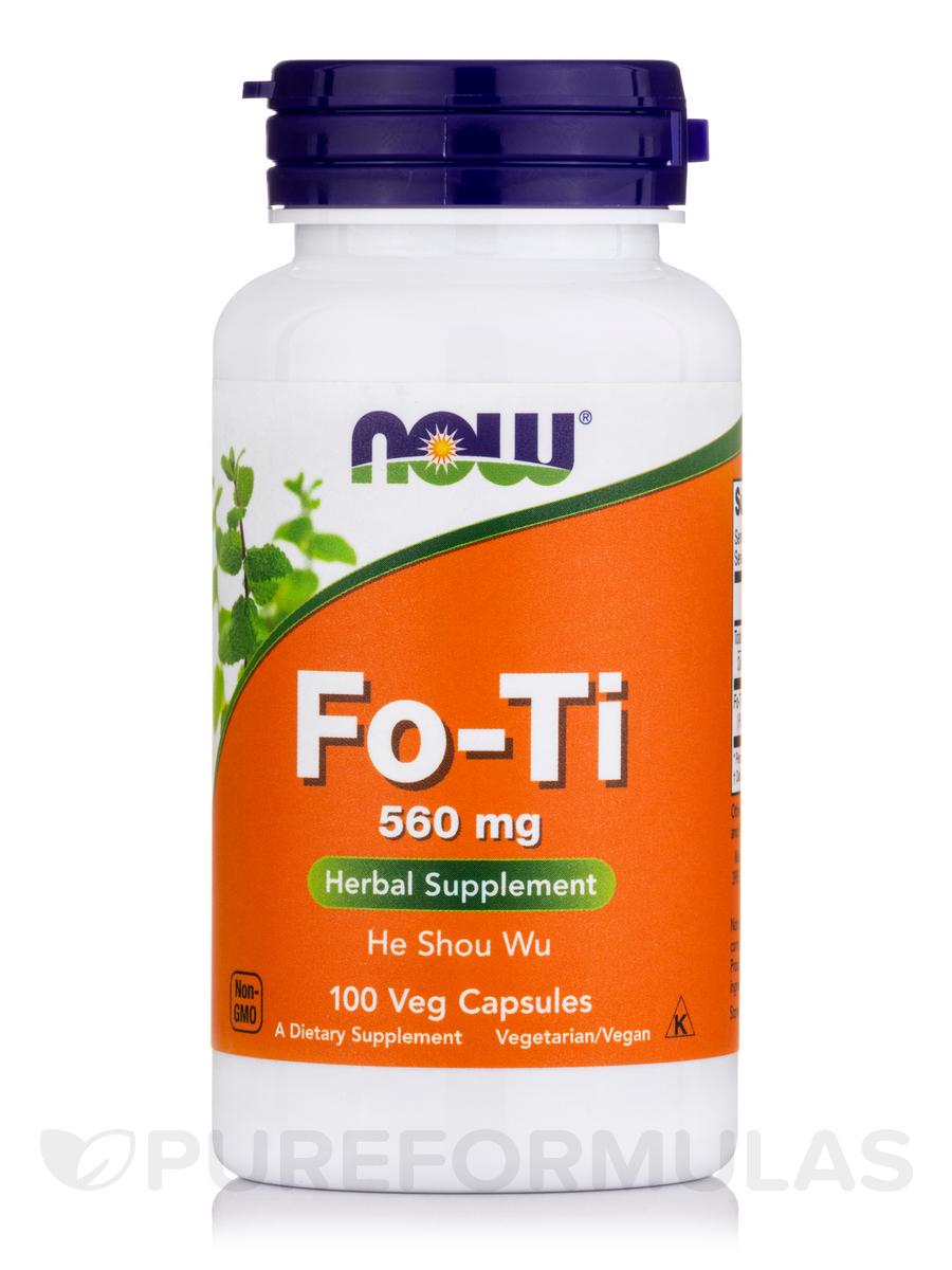 Fo-Ti 560 mg - 100 Capsules