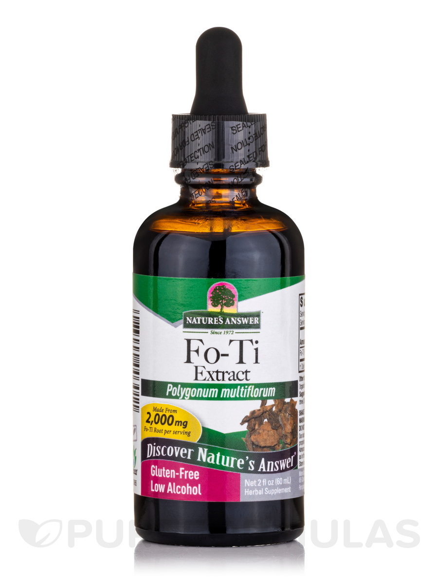 Fo-Ti Cured Root Extract - 2 fl. oz (60 ml)