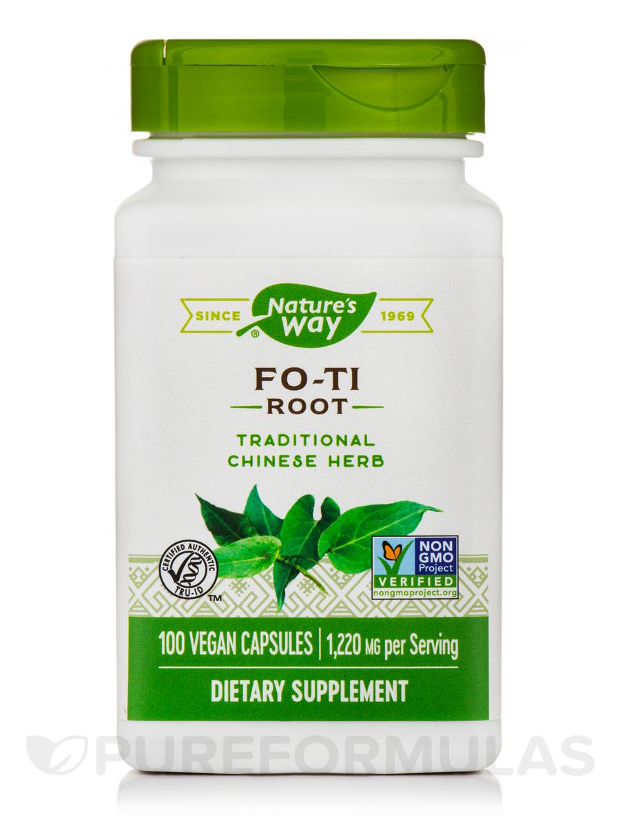 Fo-Ti Root 610 mg - 100 Capsules