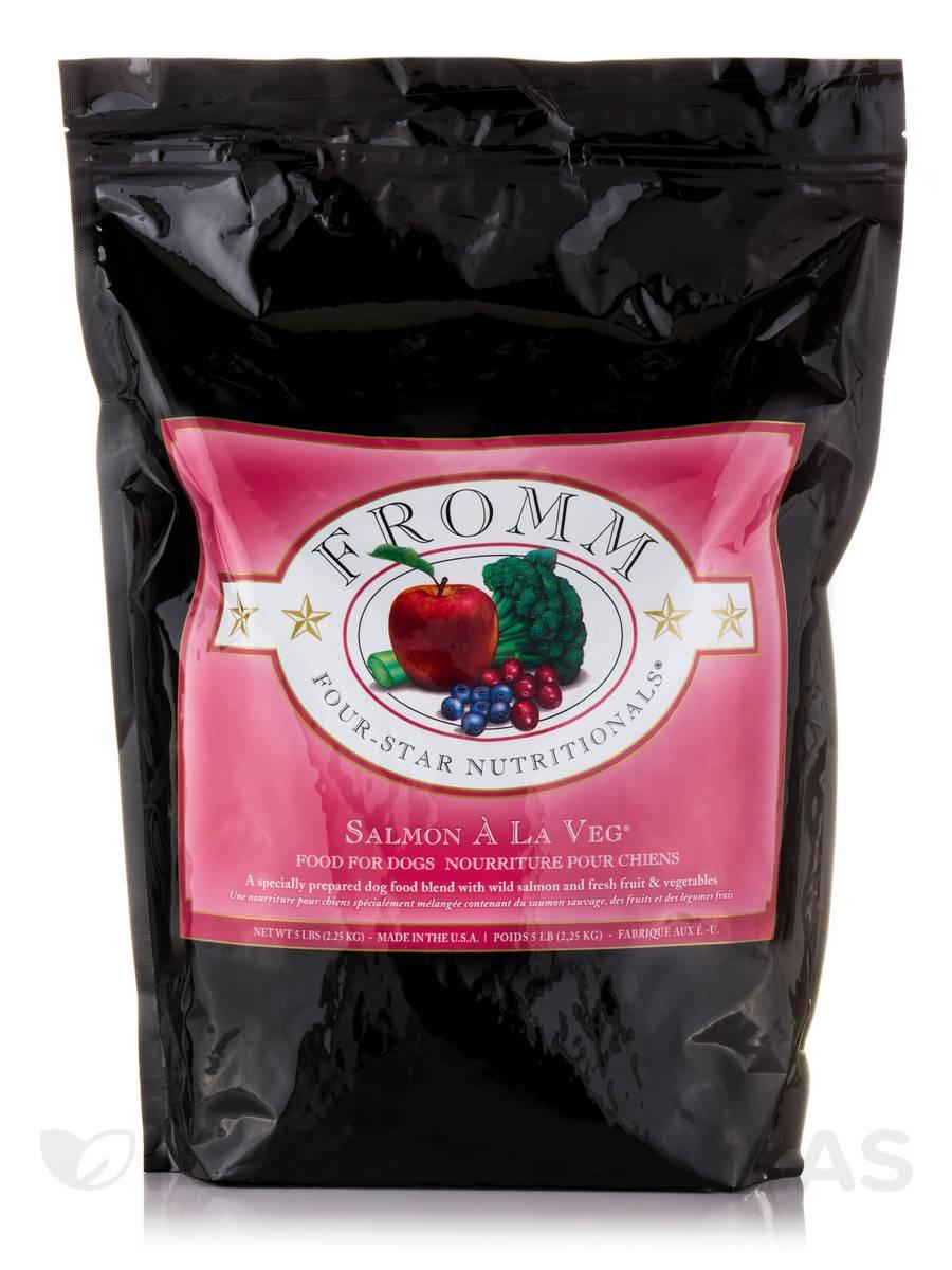 Four-Star Nutritionals® Salmon À La Veg® Food for Dogs - 5 Lbs (2.25 Kg)