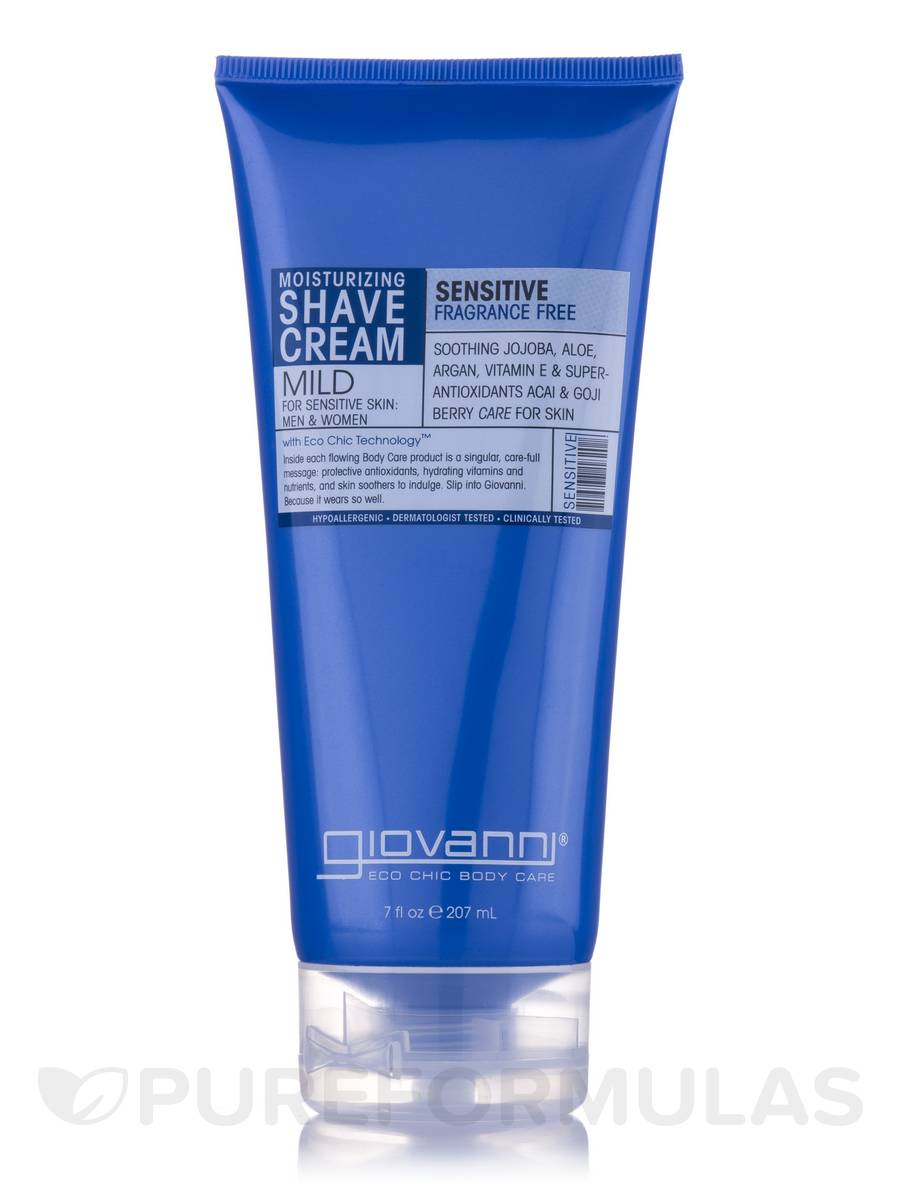 Fragrance Free & Aloe Shave Cream (Sensitive Skin) - 7 fl. oz (207 ml)
