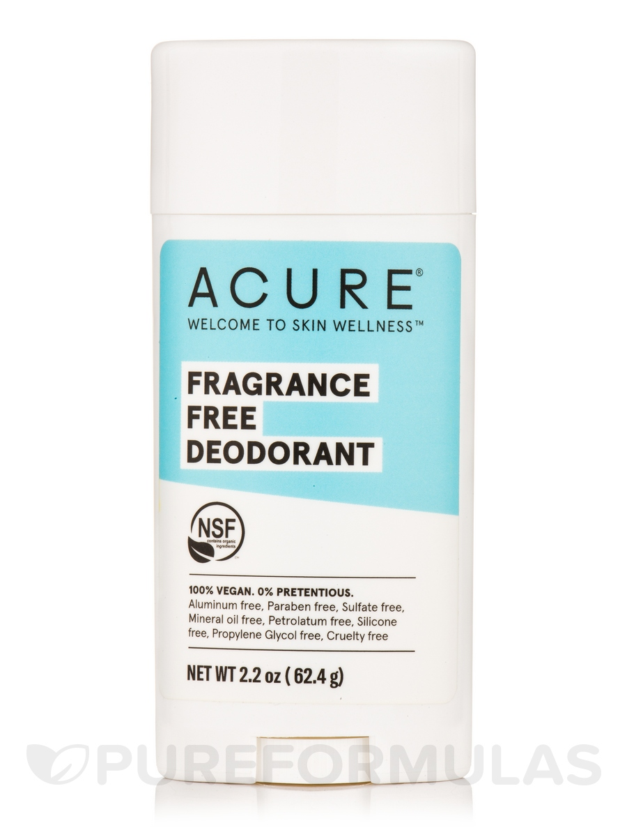 Fragrance Free Deodorant - 2.2 oz (62.4 Grams)