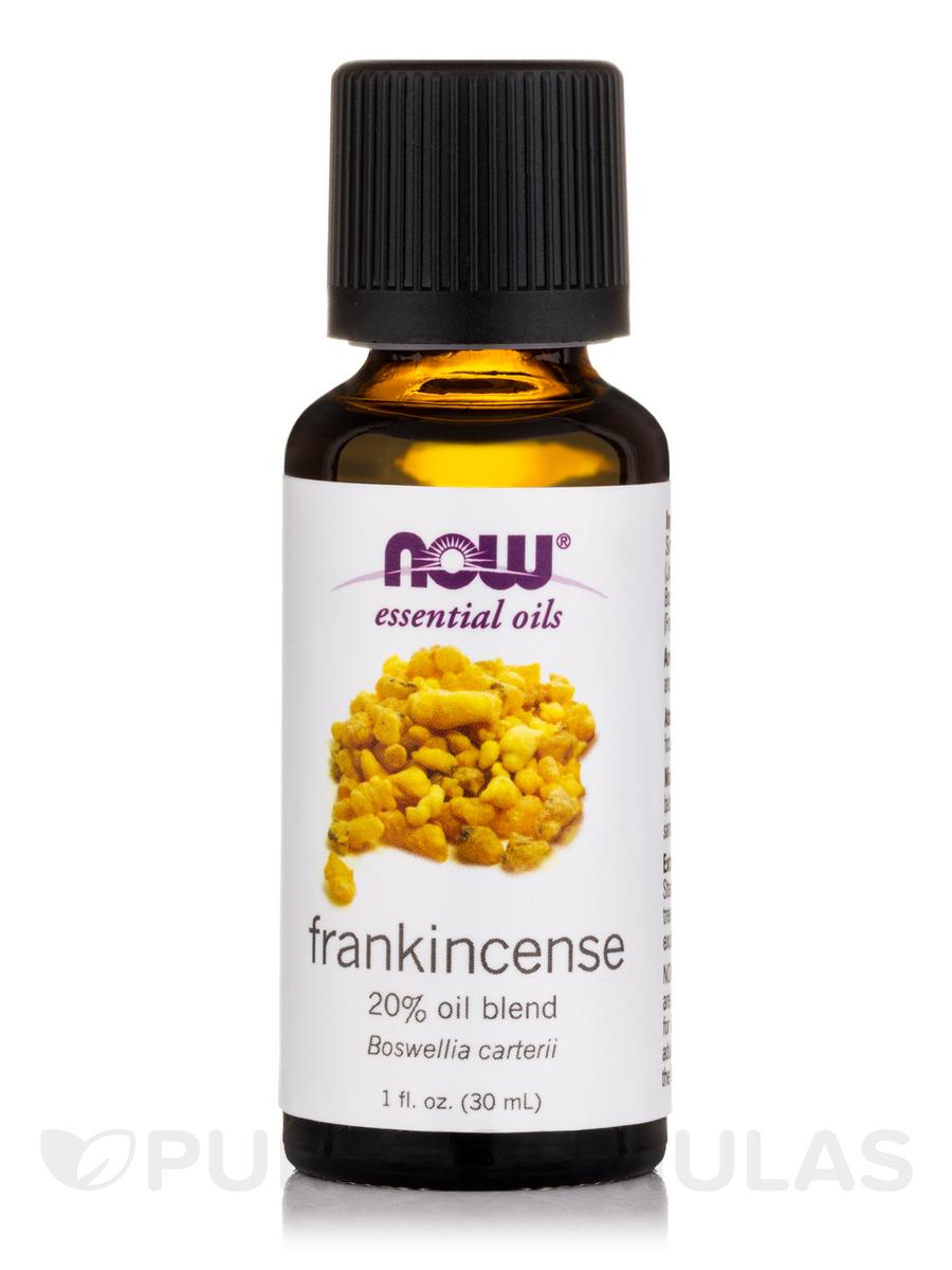 NOW® Essential Oils - Frankincense Oil (20% Oil Blend) - 1 fl. oz (30 ml)