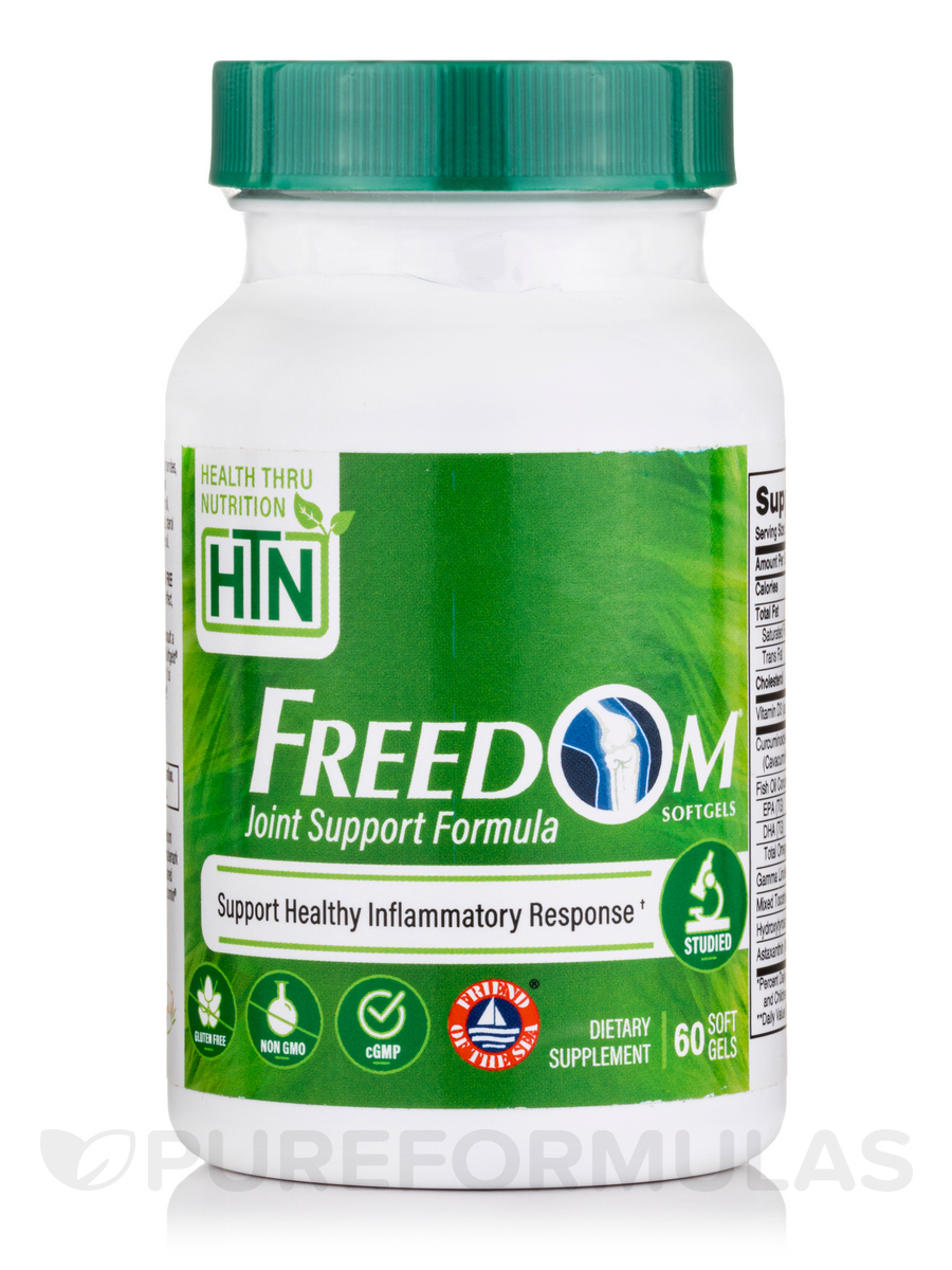 Freedom Softgels® - Pain & Inflammation Complex - 60 Softgels