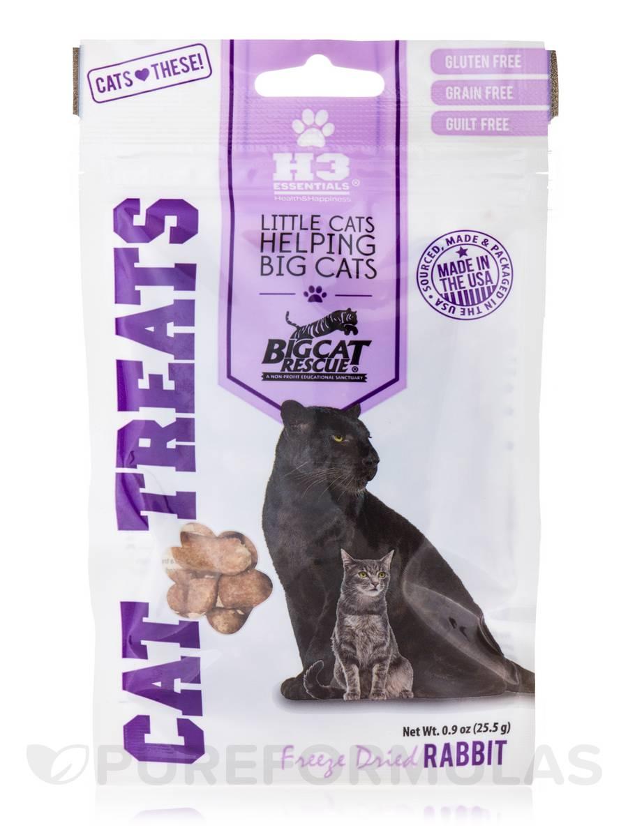Freeze Dried Cat Treats, Rabbit - 0.9 oz (25.5 Grams)