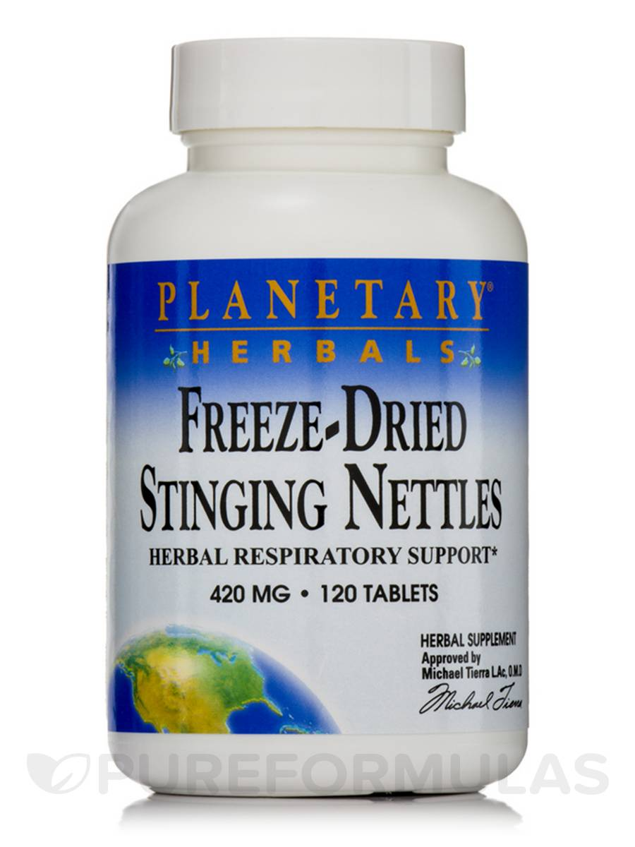 Freeze-Dried Stinging Nettles 420 mg - 120 Tablets