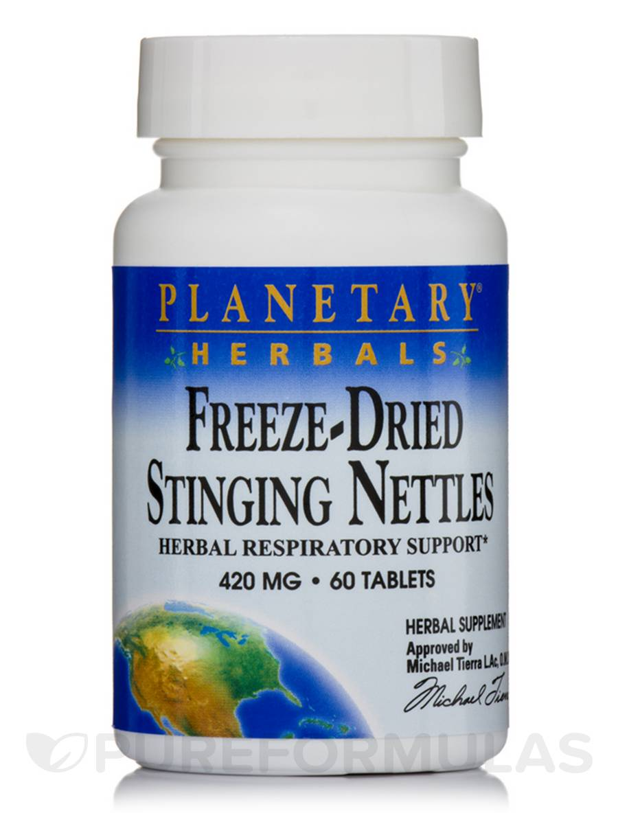 Freeze-Dried Stinging Nettles 420 mg - 60 Tablets
