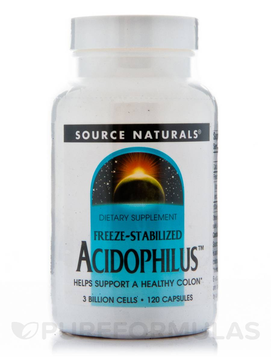 Freeze-Stabilized Acidophilus - 120 Capsules