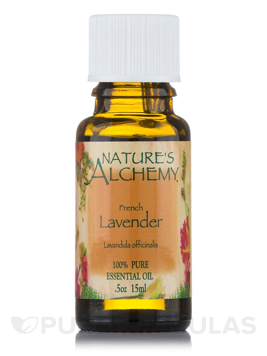 French Lavender Pure Essential Oil - 0.5 oz (15 ml)
