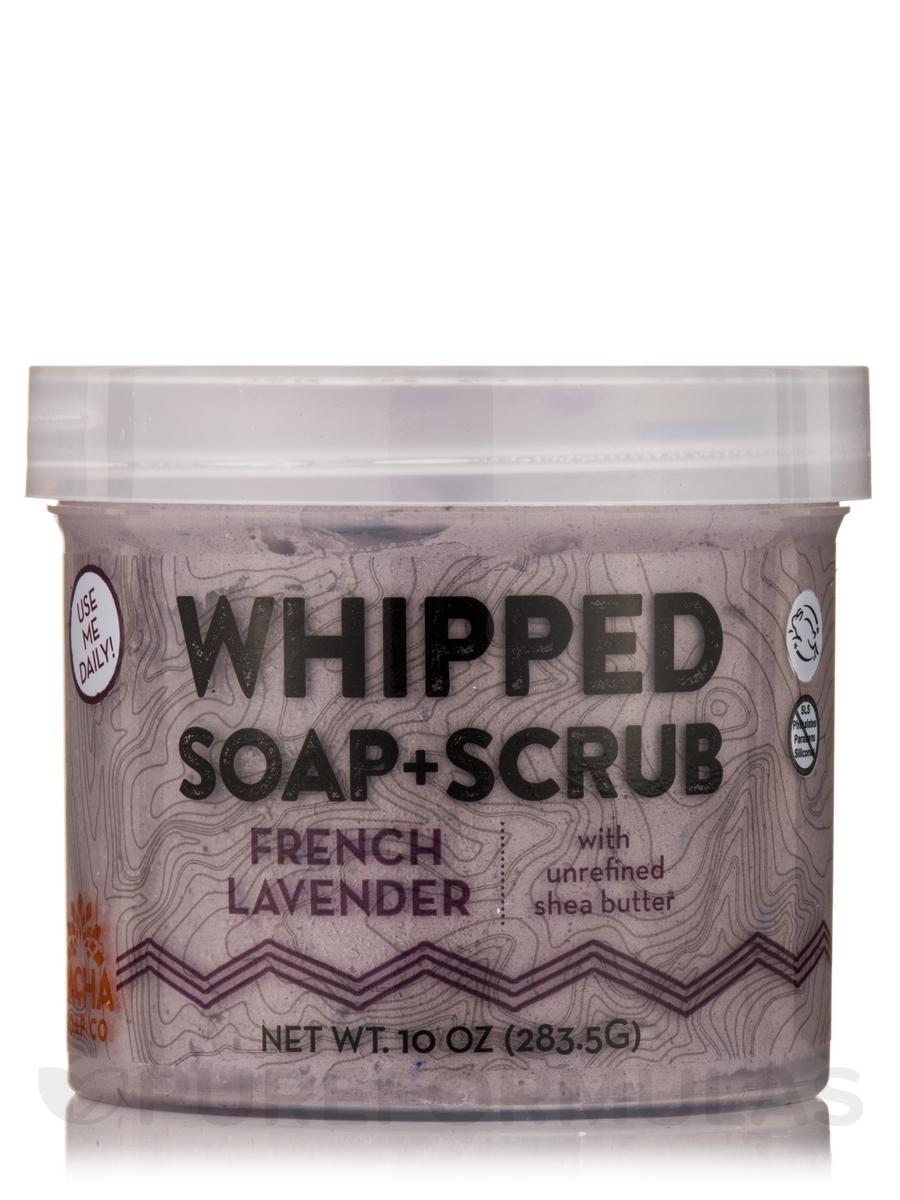 French Lavender Whipped Soap + Scrub - 10 oz (283.5 Grams)