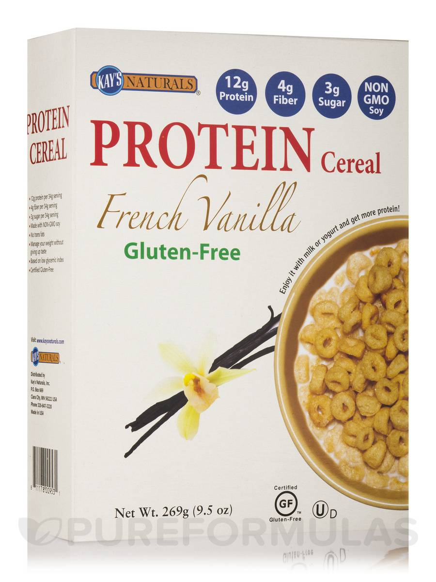 French Vanilla Protein Cereal - 9.5 oz (269 Grams)