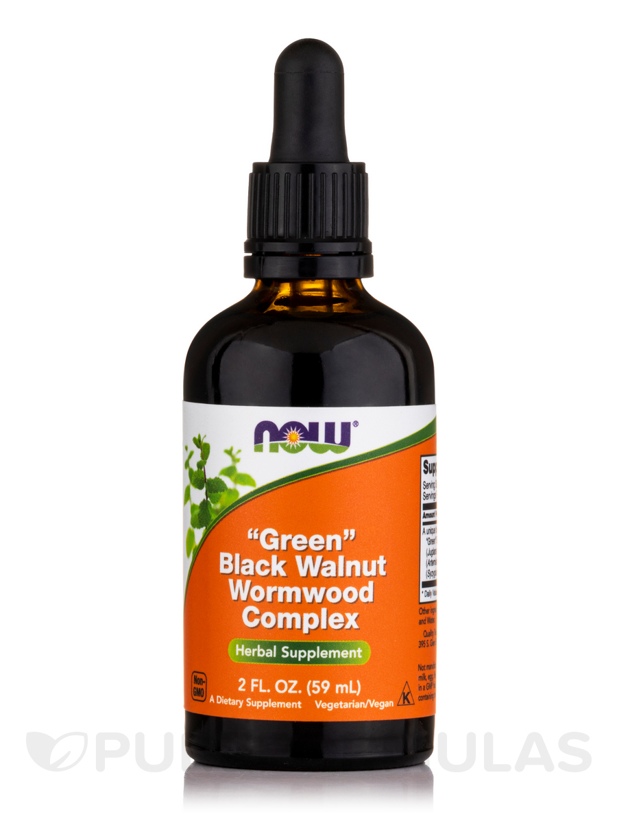 Fresh Green Black Walnut Wormwood Complex - 2 fl. oz (60 ml)
