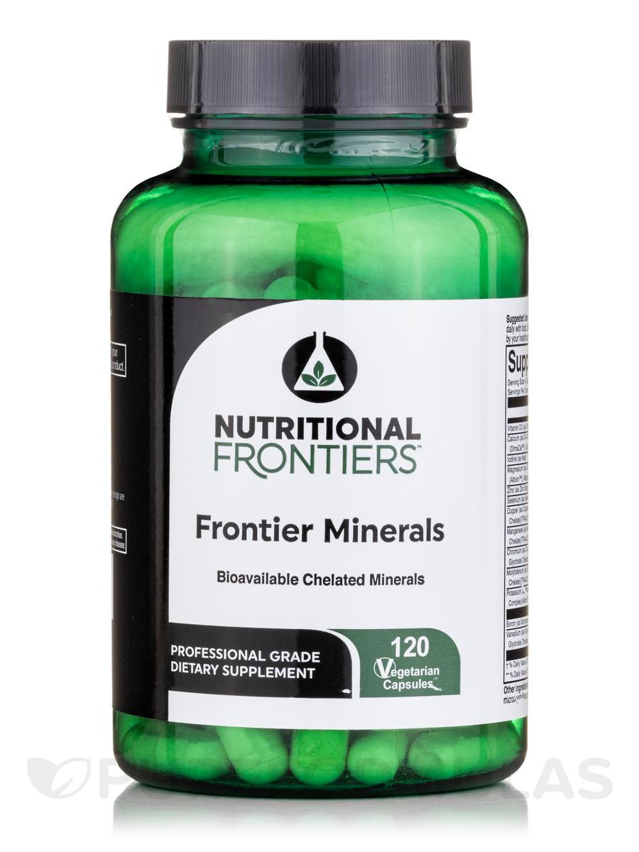 Frontier Minerals - 120 Vegetarian Capsules