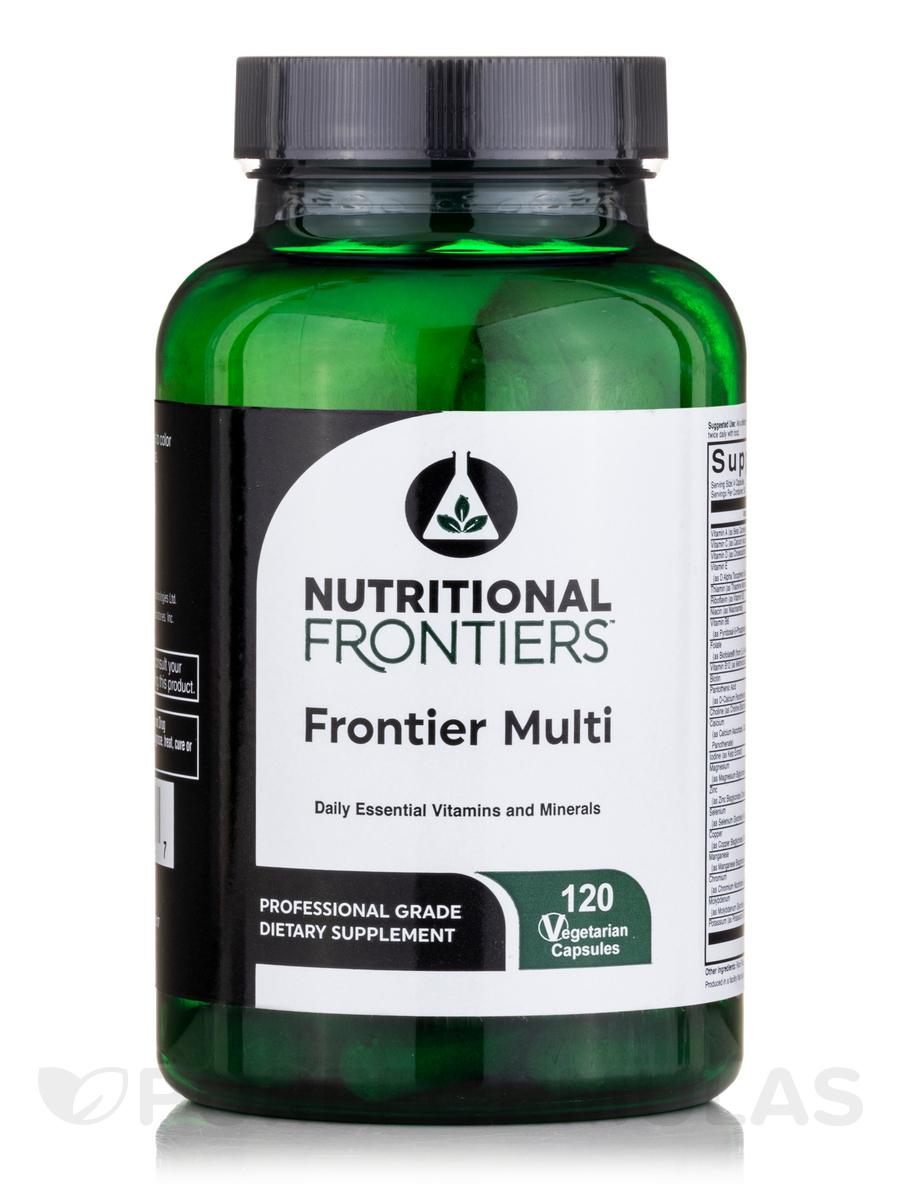 Frontier Multivitamin - 120 Vegetarian Capsules