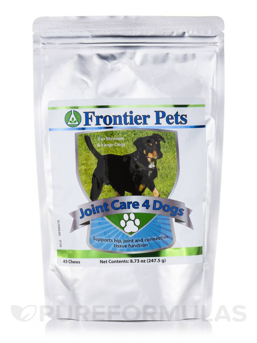 Frontier Pets Joint Care for Medium & Large Dogs - 45 Chews