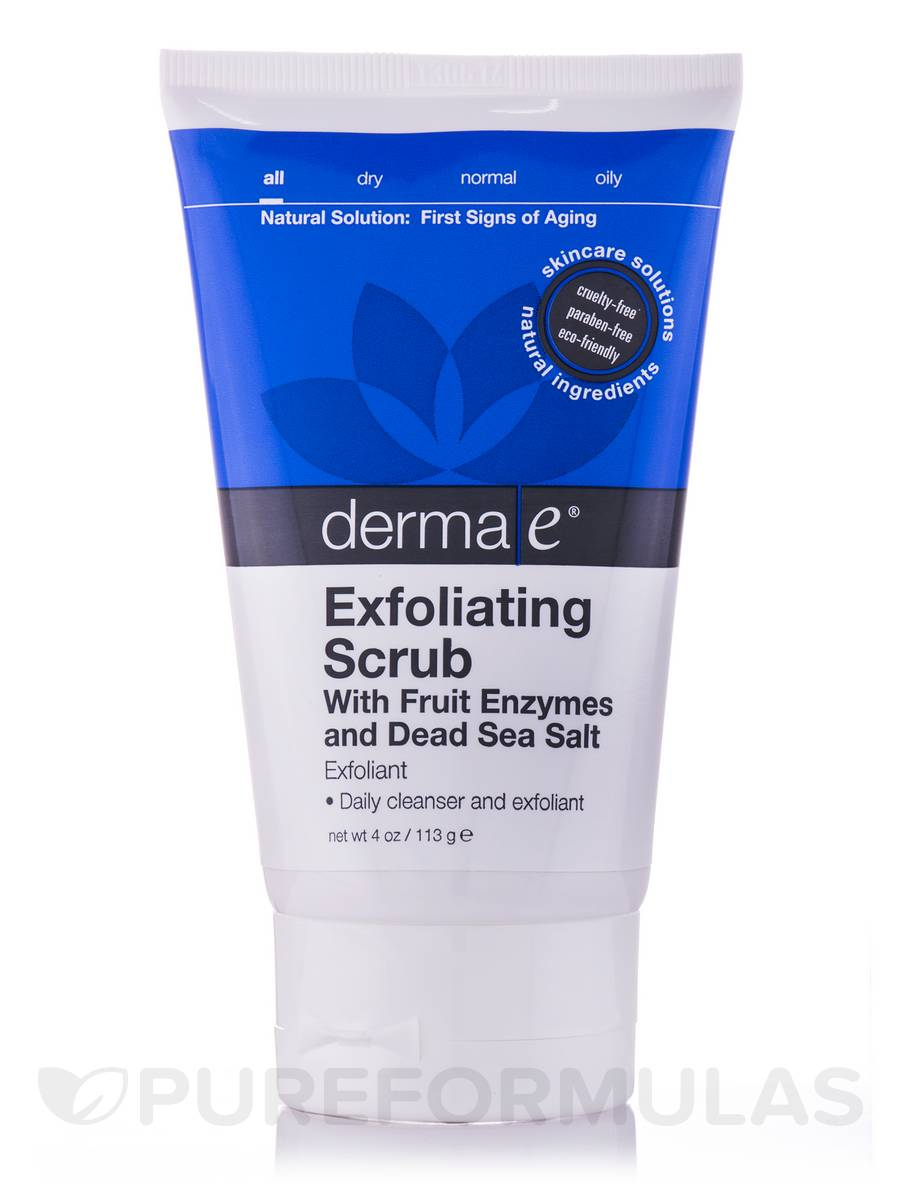 Fruit Enzyme Facial Exfoliating Scrub - 4 oz (113 Grams)