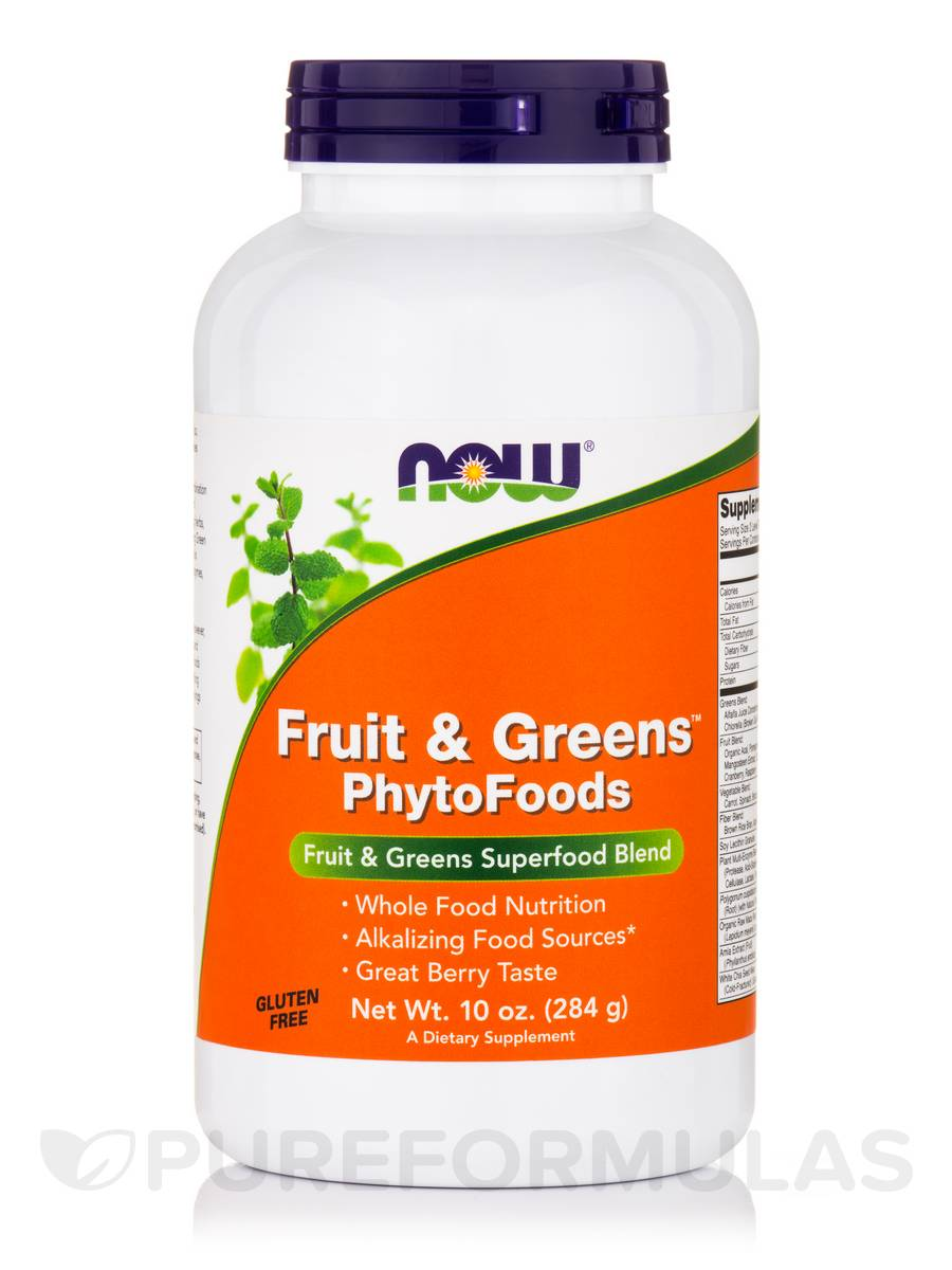 Fruits & Greens™ PhytoFoods, Berry Flavor - 10 oz (284 Grams)