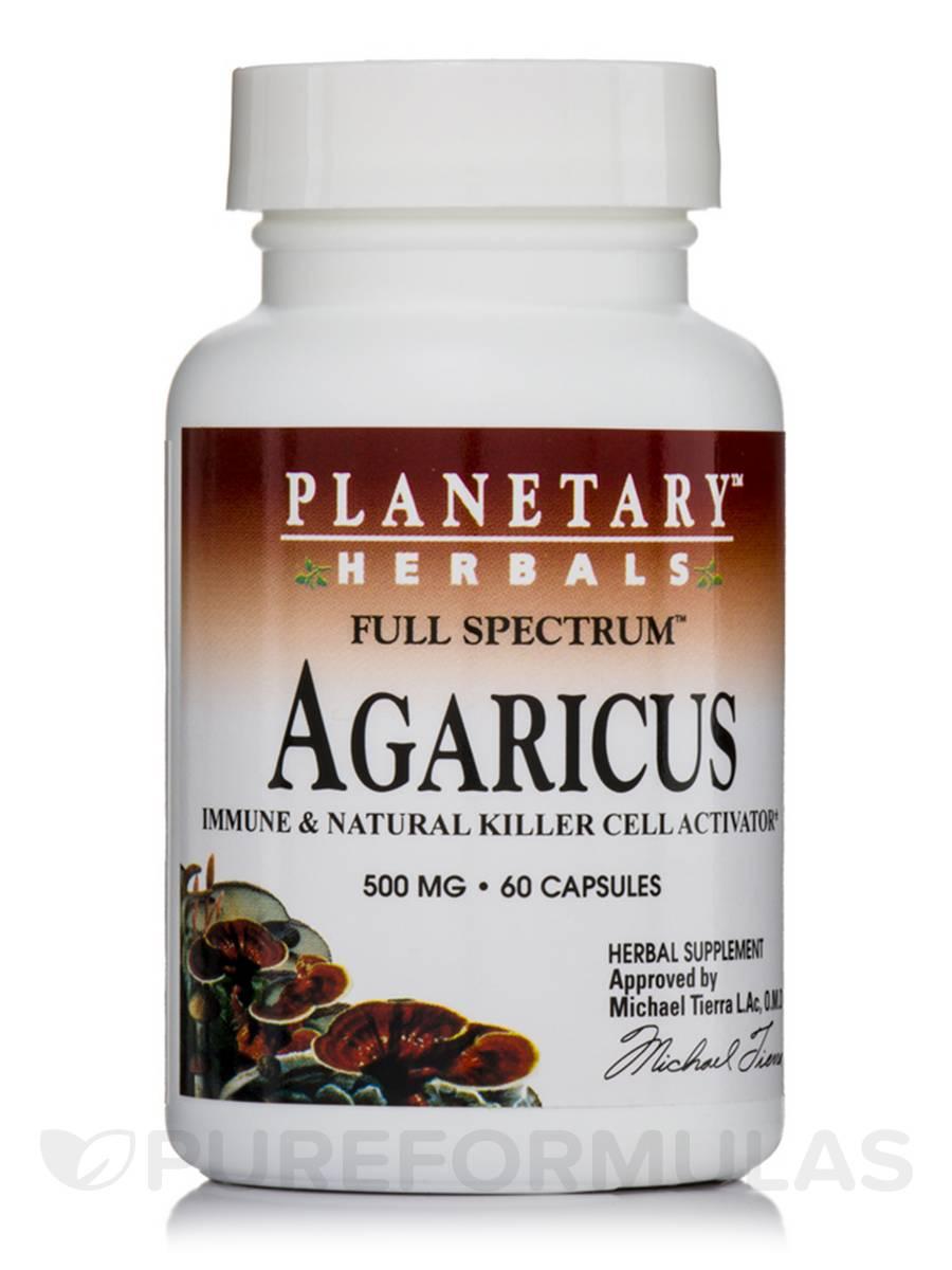Full Spectrum Agaricus 500 mg - 60 Capsules