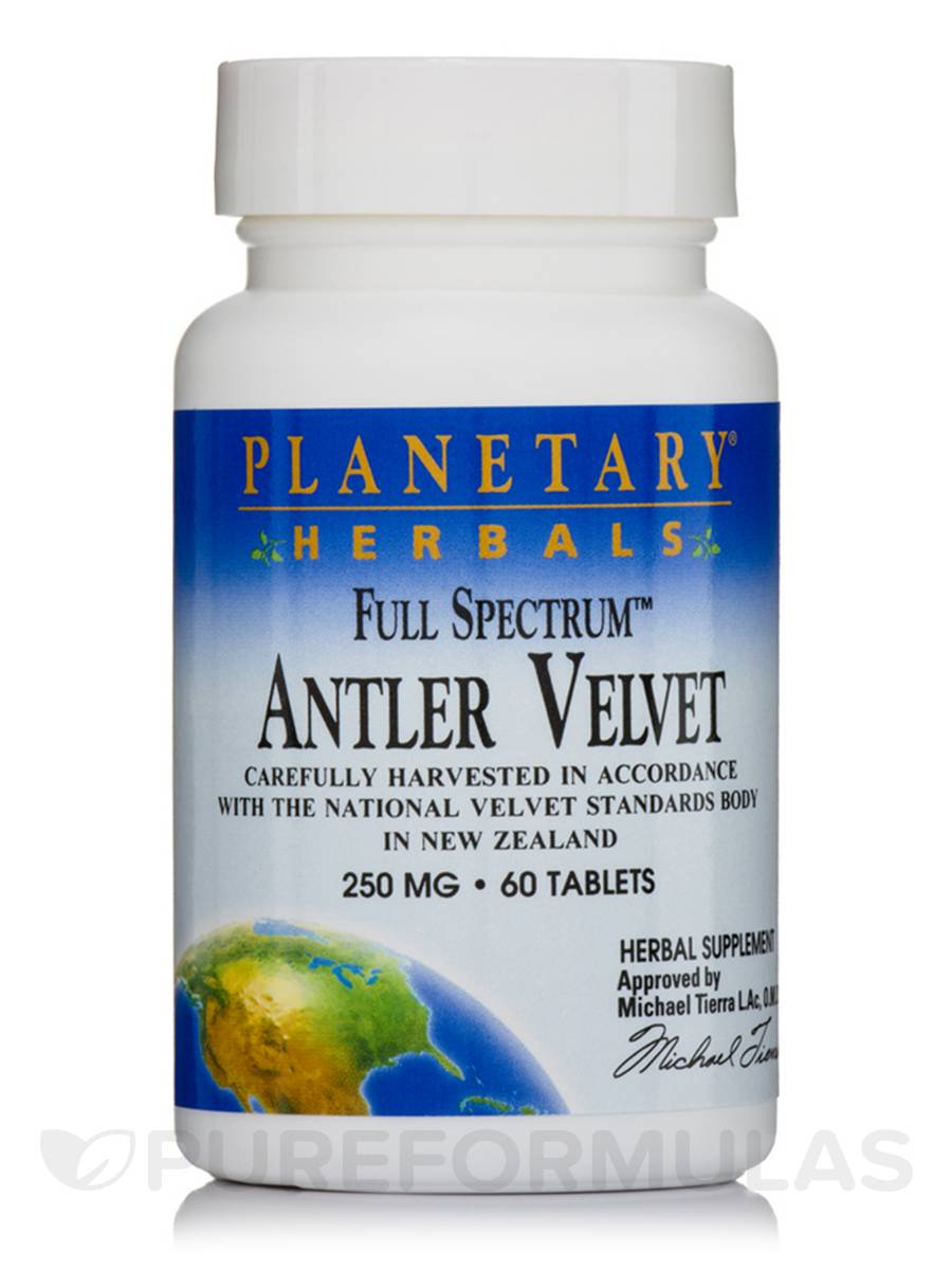 Full Spectrum Antler Velvet 250 mg - 60 Tablets