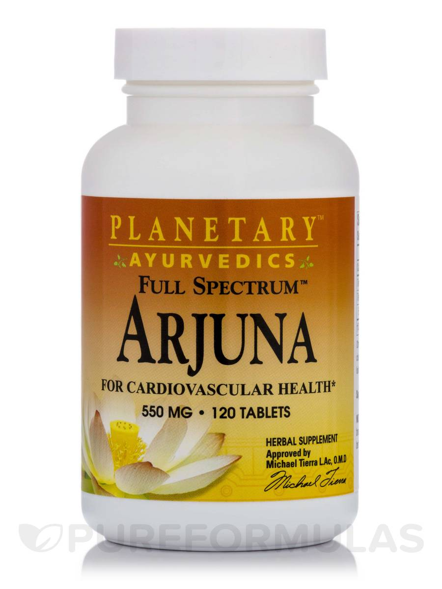 Full Spectrum Arjuna 550 mg - 120 Tablets