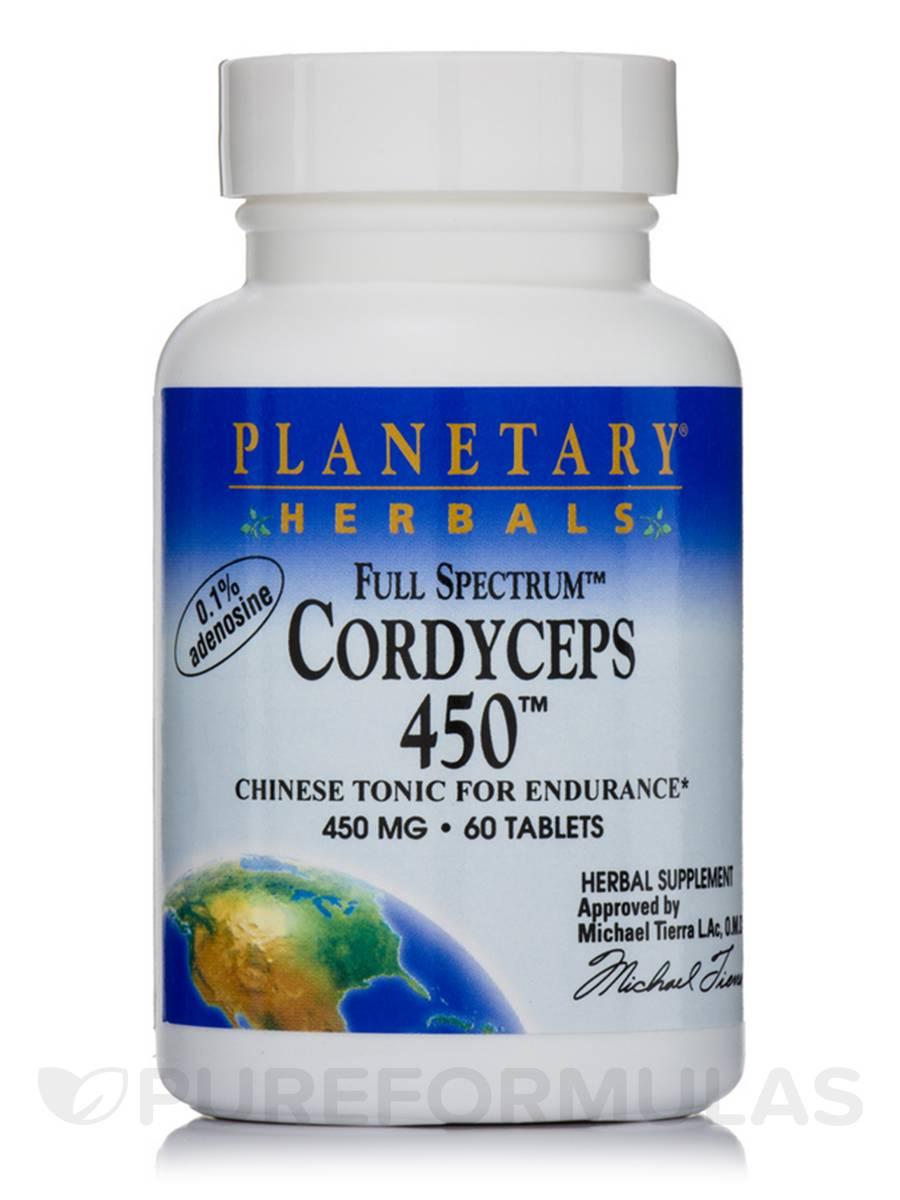 Full Spectrum Cordyceps 450 mg - 60 Tablets