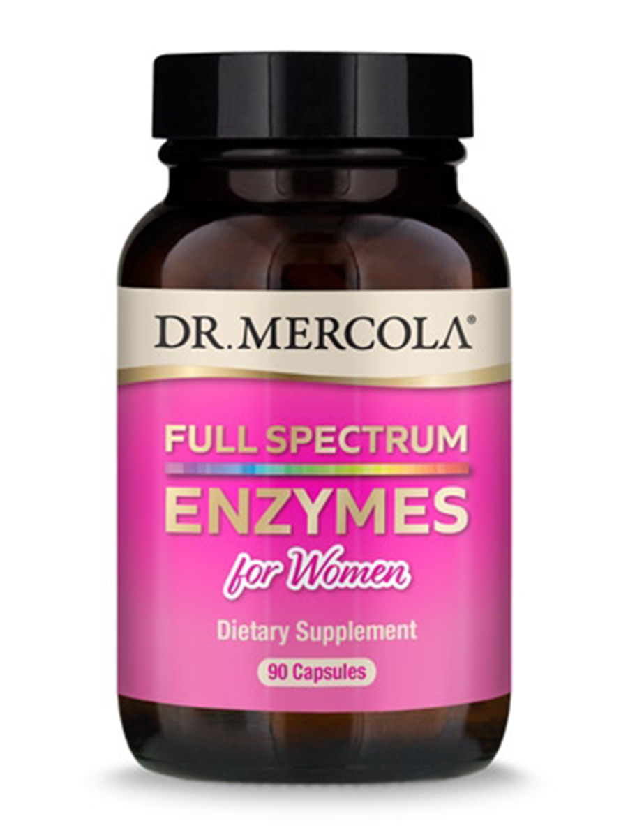 Full Spectrum Enzymes for Women - 90 Capsules
