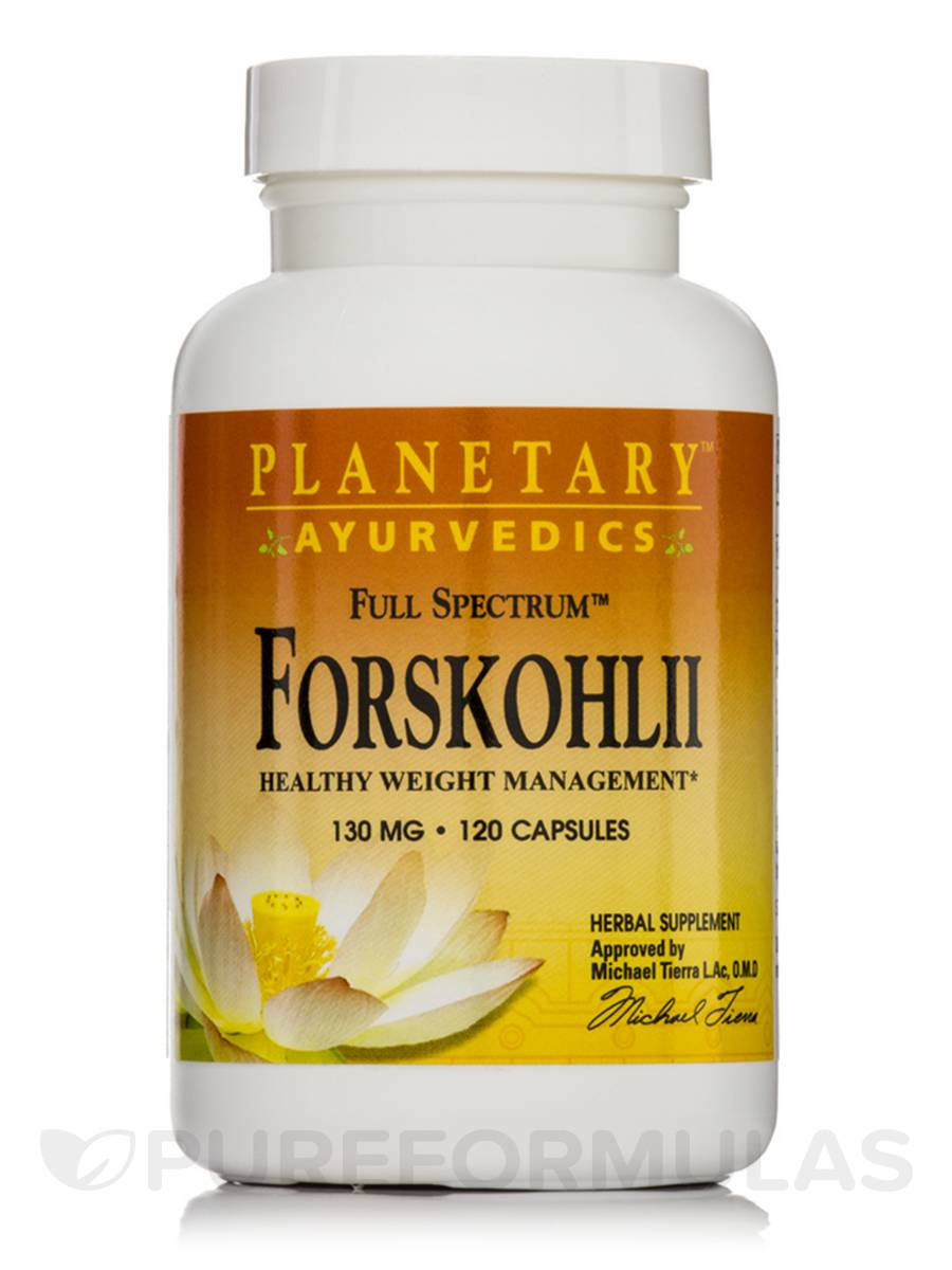 Full Spectrum Forskohlii 130 mg - 120 Capsules