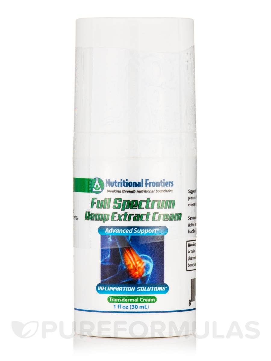 Full Spectrum Hemp Extract Cream - 1 fl. oz (30 ml)
