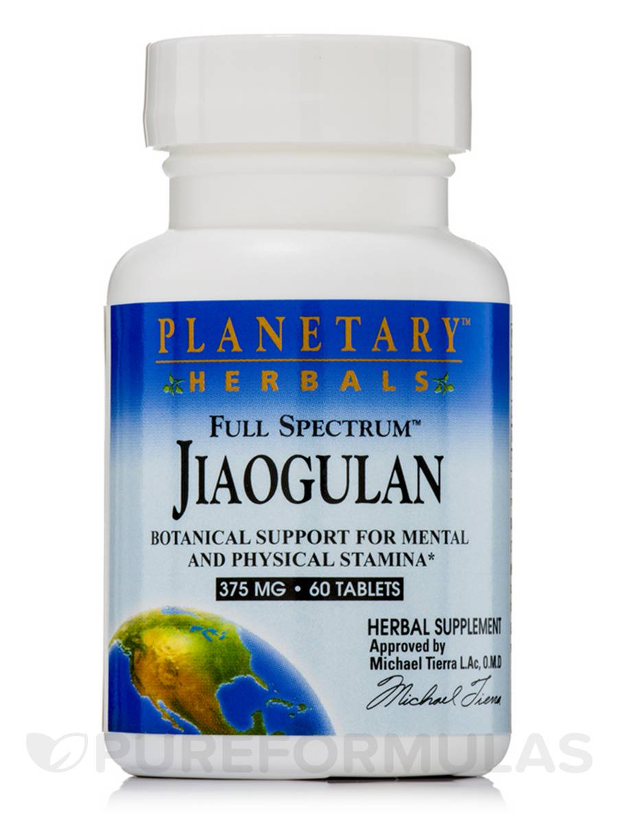 Full Spectrum Jiaogulan 375 mg - 60 Tablets