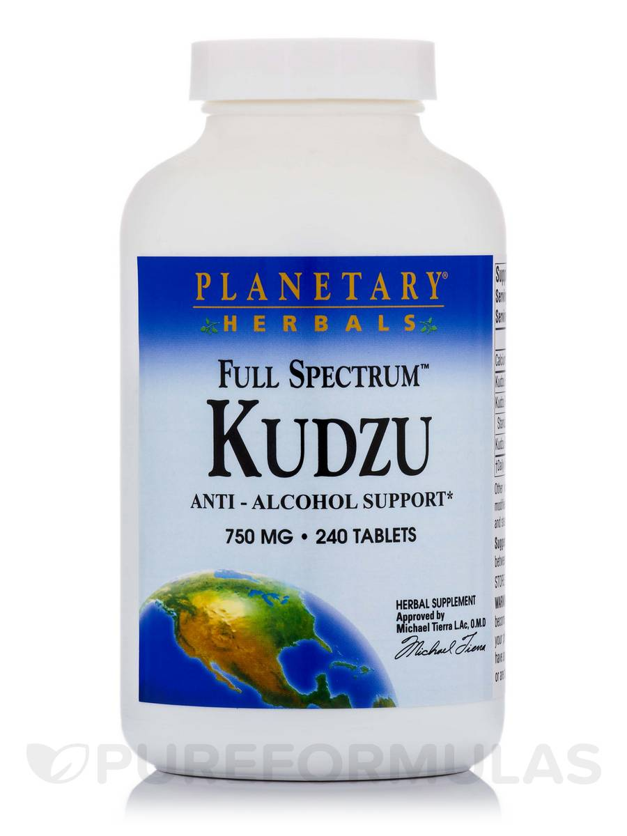 Full Spectrum™ Kudzu 750 mg - 240 Tablets