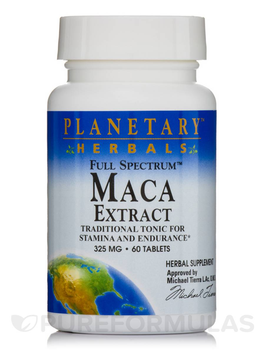 Full Spectrum Maca Extract 325 mg - 60 Tablets
