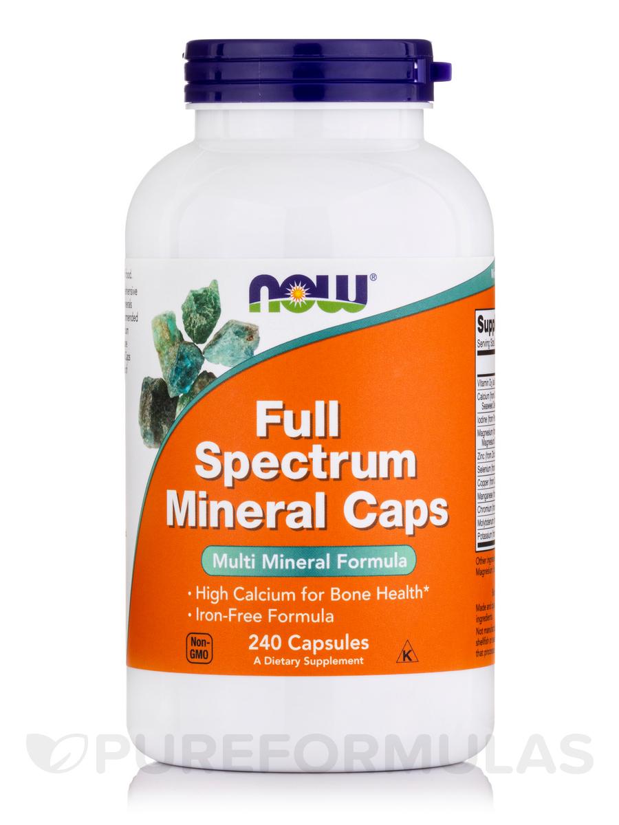 Full Spectrum Minerals Caps - 240 Capsules