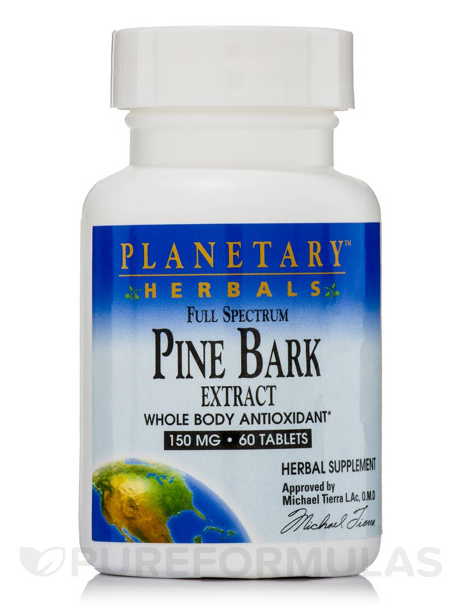 Full Spectrum Pine Bark Extract 150 mg - 60 Tablets